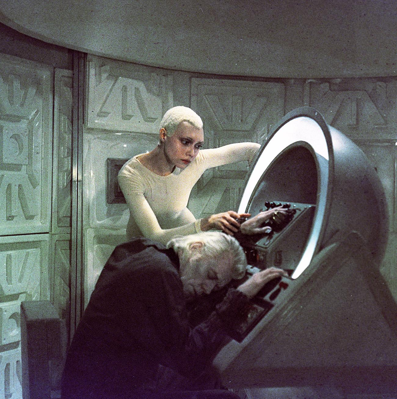 Still from the film Per Aspera Ad Astra. Maxim Gorky Studio, Moscow, 1980. Elena Metelkina as Niya and Oleg Strizhenov as Dess Glan. / RIA Novosti