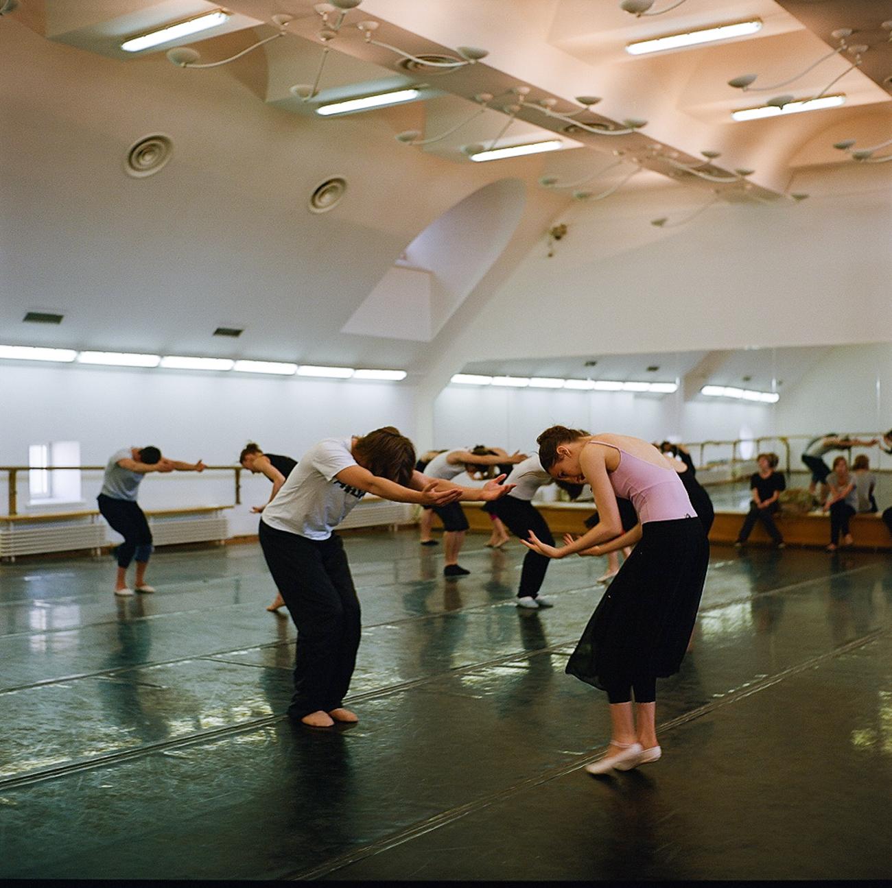 Il Bolshoj è sempre alla ricerca di nuovi talenti e accoglie studenti sia russi sia stranieri