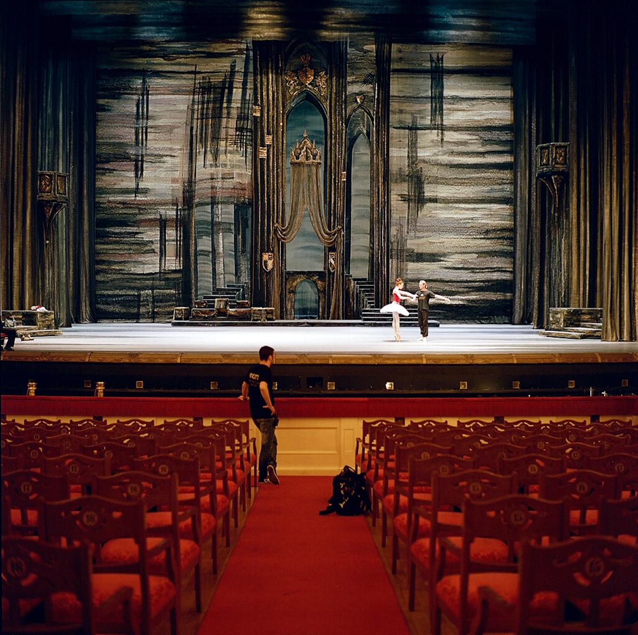 L'edificio principale del teatro venne disegnato da Joseph Bove