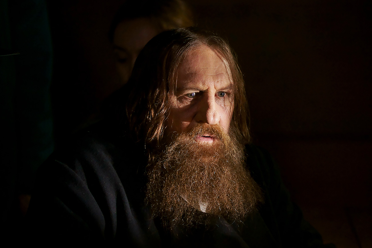French actor Gérard Depardieu as Rasputin.