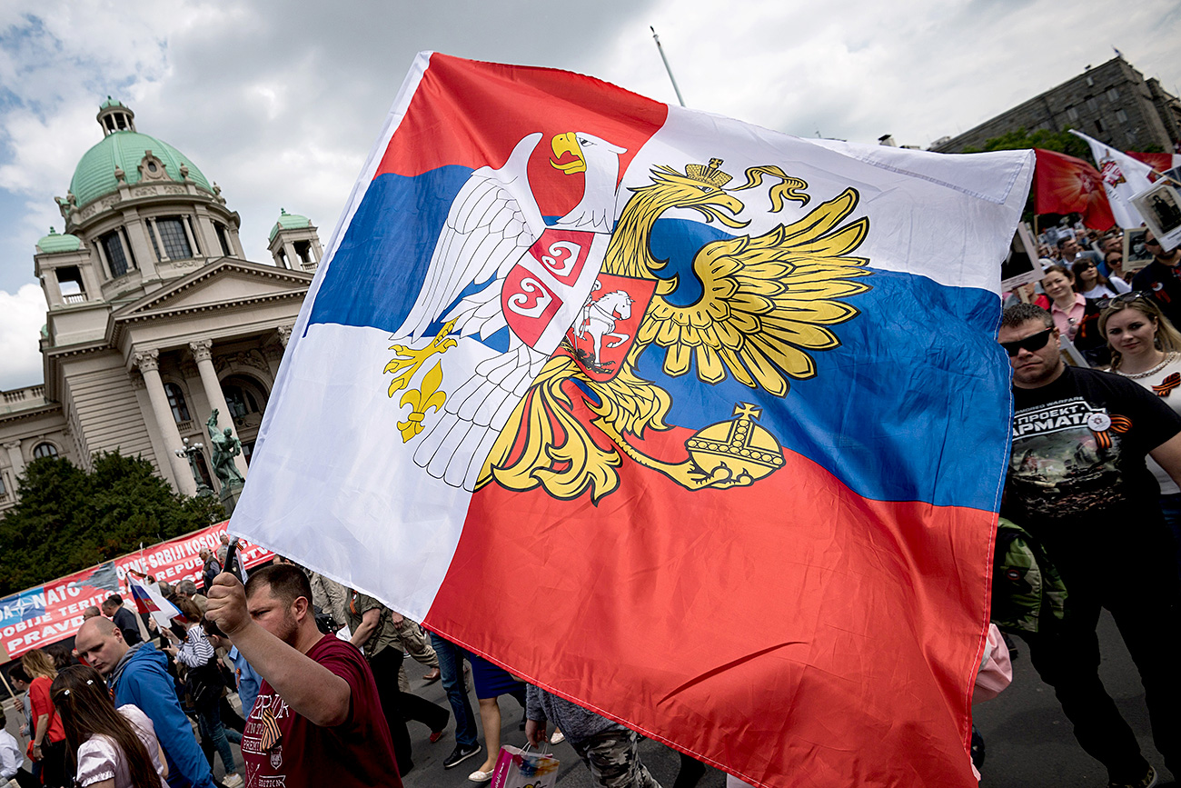 Русима и Србима, у целини гледано, својствено је јунаштво и воља да дођу до победе. Илустрација: AFP