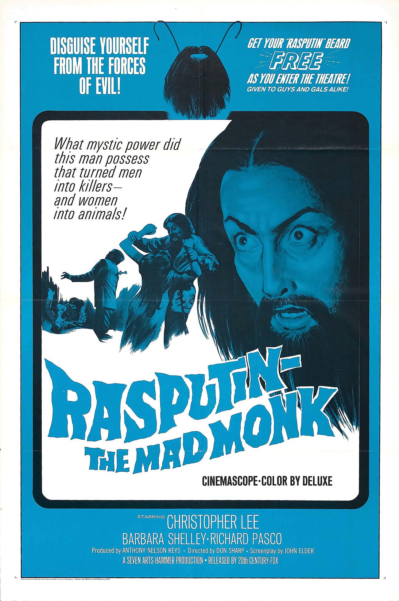 Rasputin - The Mad Monk / Kinopoisk.ru