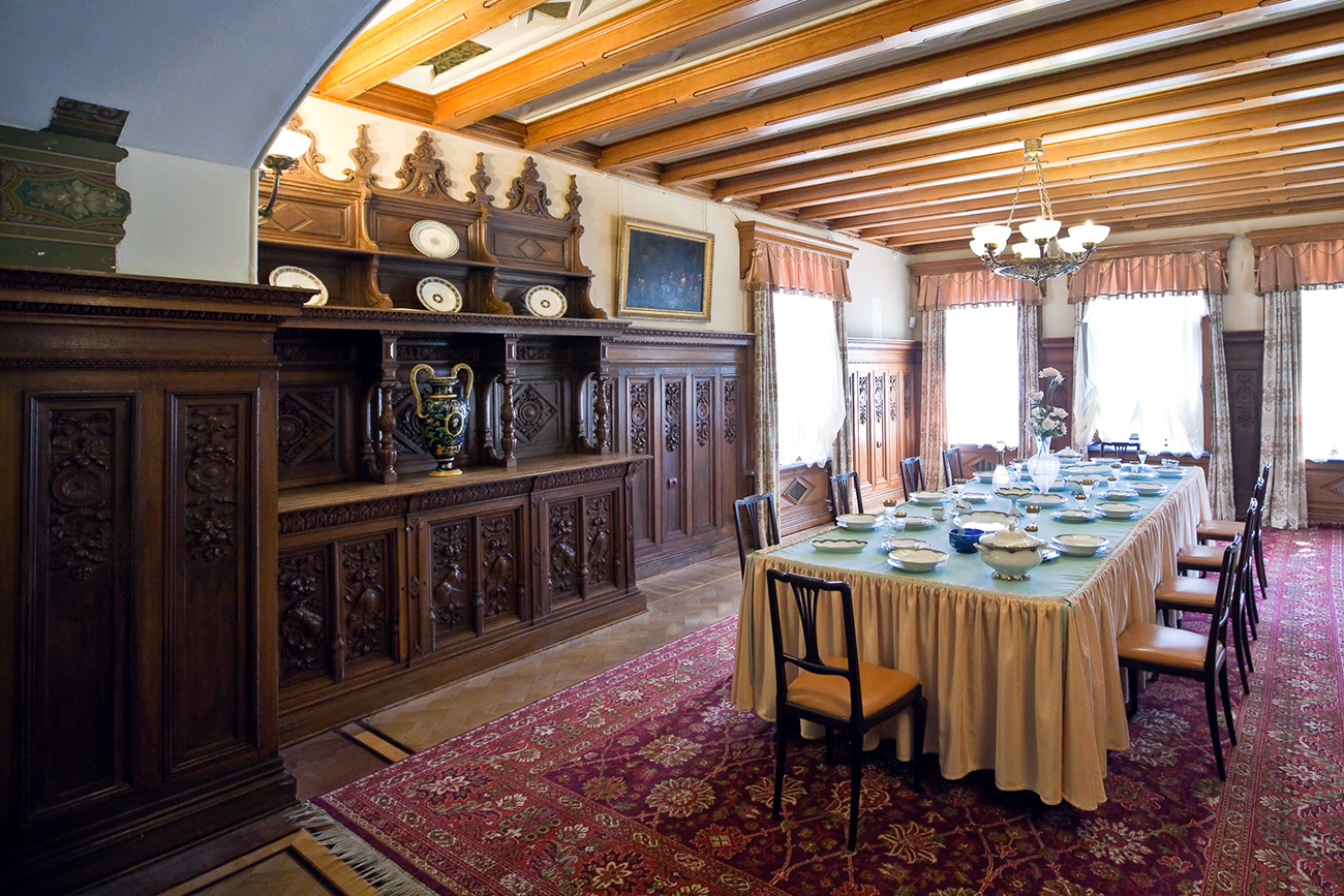 The dining room. / Legion Media
