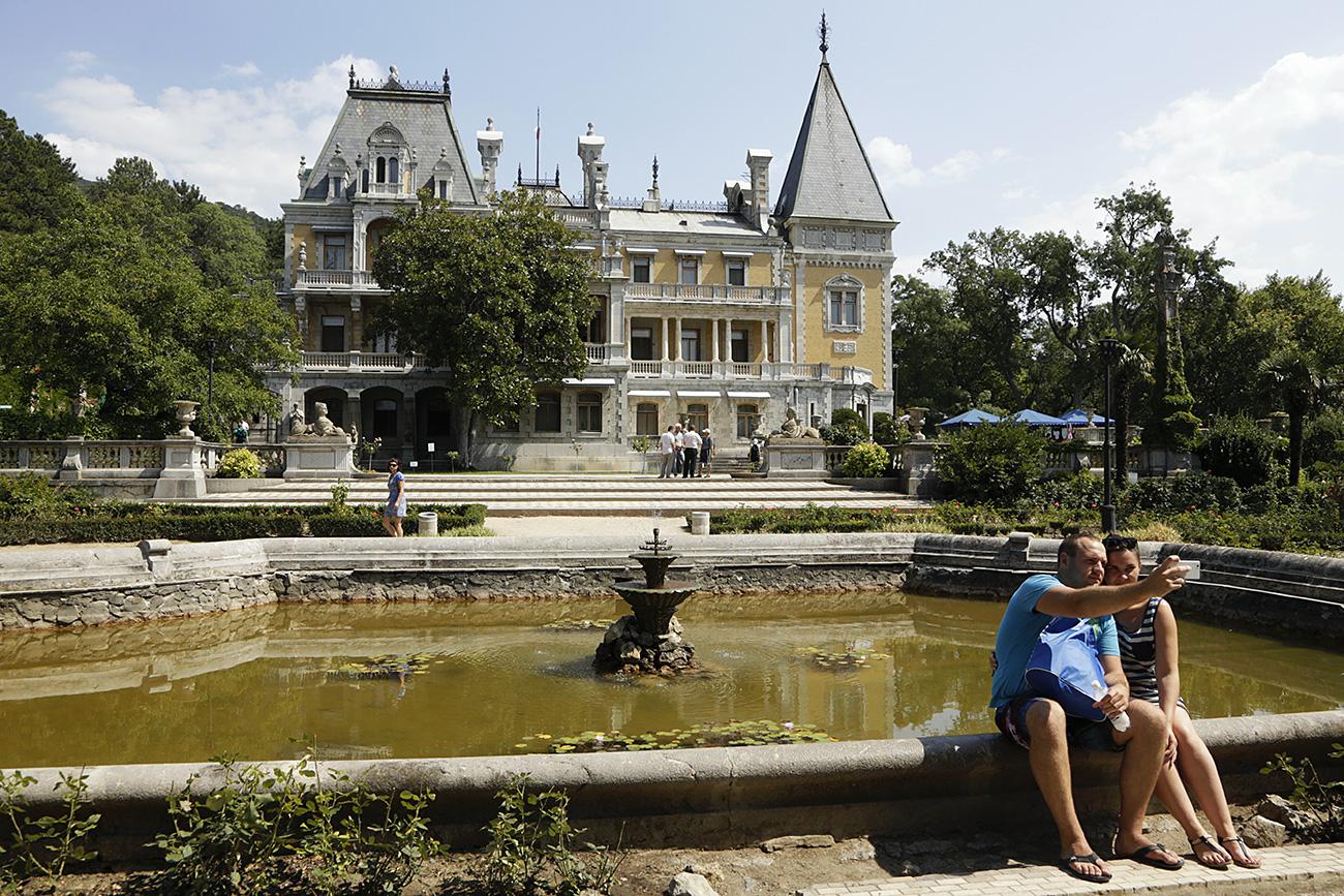 Massandra Palace, currently a branch of Alupka Palace and Park Museum-Reserve, Crimea. / Maks Vetrov/RIA Novosti
