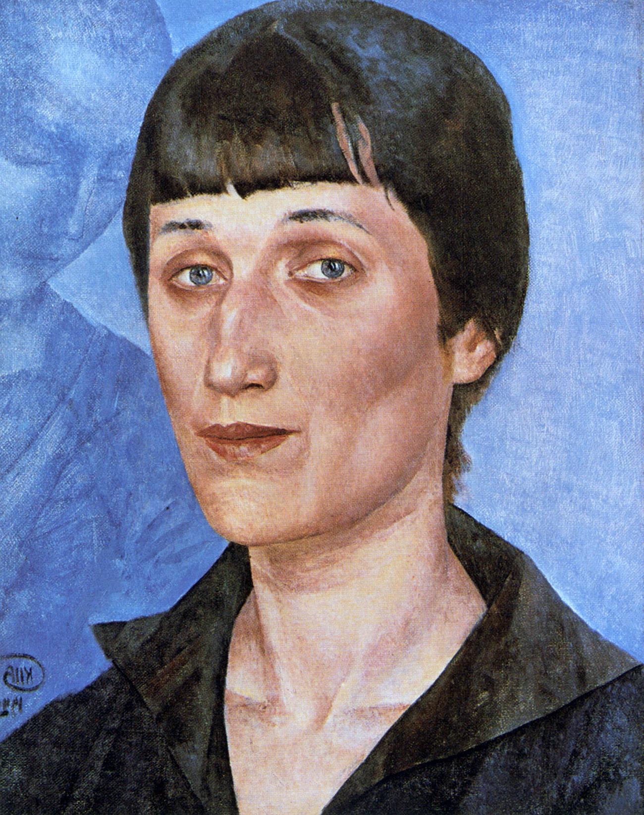 Portrait of Anna Akhmatova by Kuzma Petrov-Vodkin. Source: Poetry Literature/Global Look Press