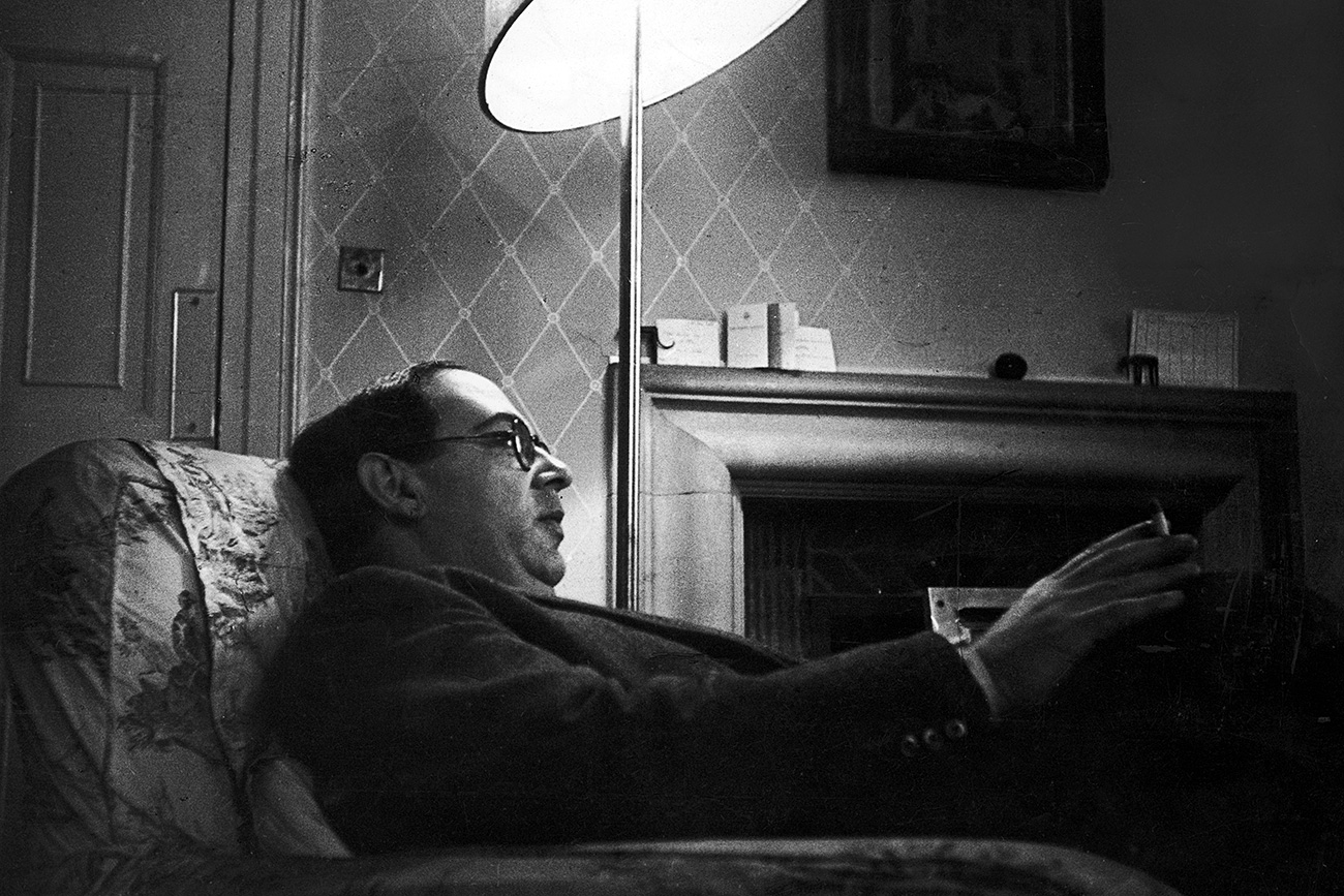 Latvian-born British philosopher, historian of ideas and Fellow of New College, Oxford, Isaiah Berlin (1909 - 1997), Oxford Source: Getty Images