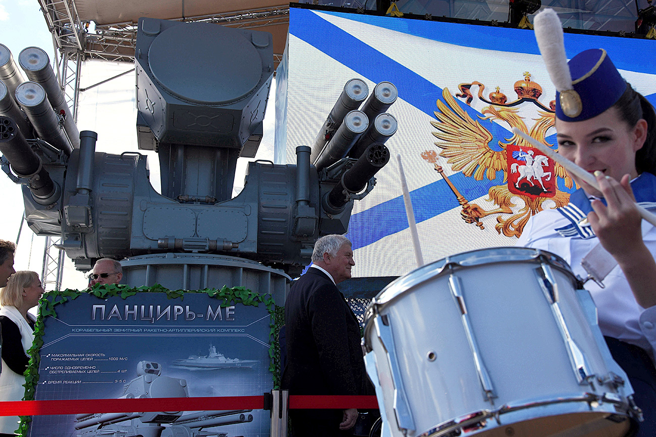 "The new ""Pantsir-ME"" will be able to intercept missiles during rough seas, rain, wind, and even storms."