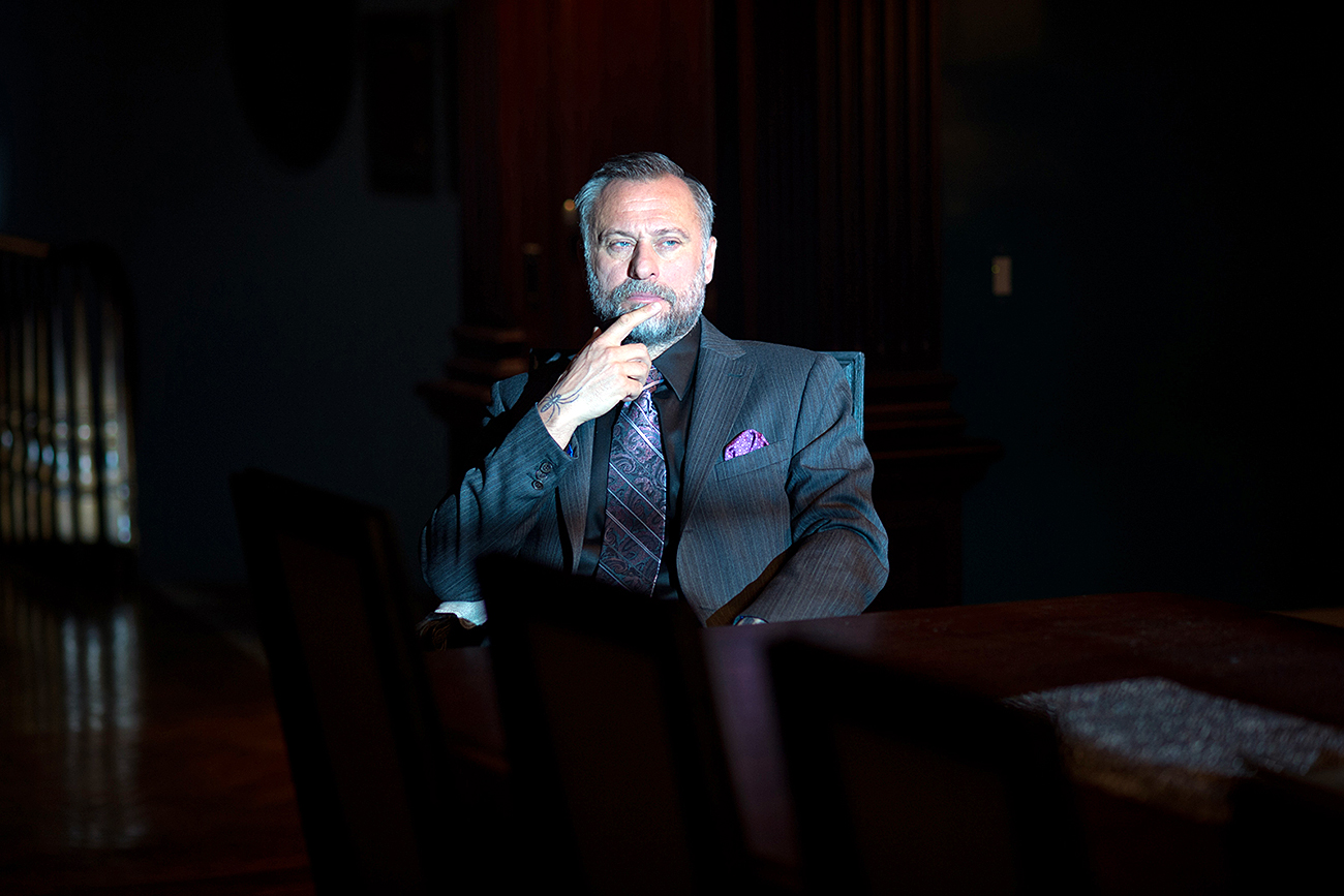 Michael Nyqvist in John Wick (2014). Source: Kinopoisk.ru