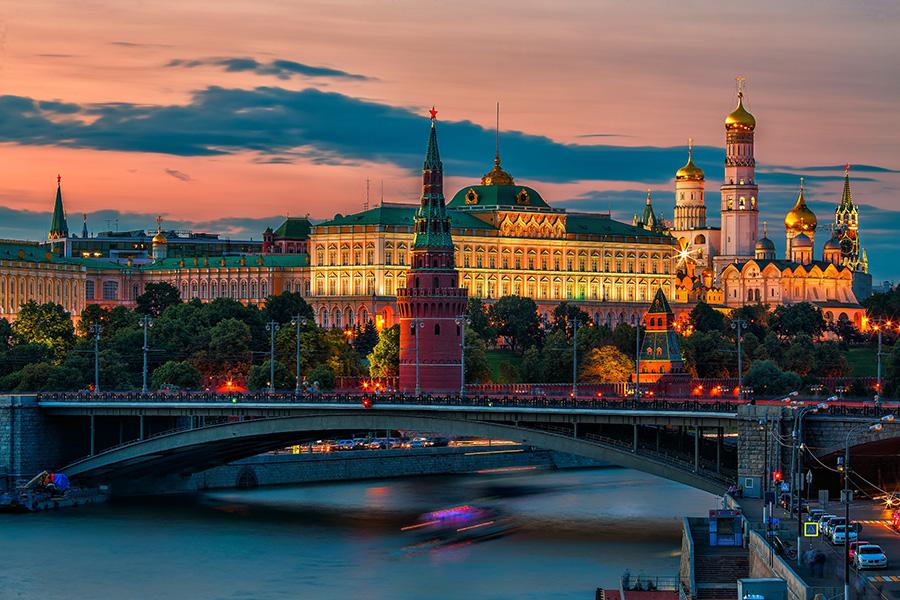 View at Moscow Kremlin