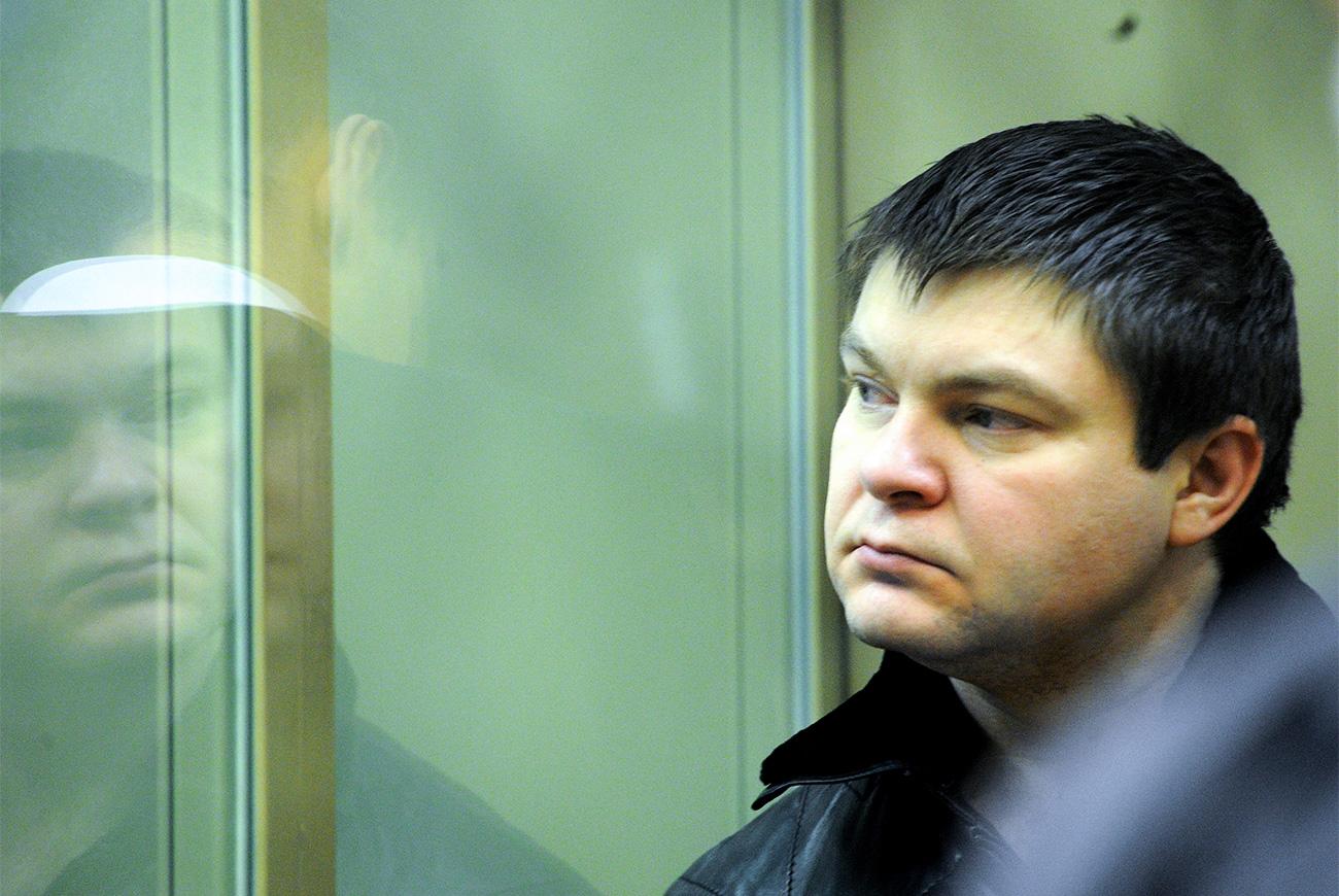 Сергей Цапок, осъден на доживотен затвор за убийство на 12 души.