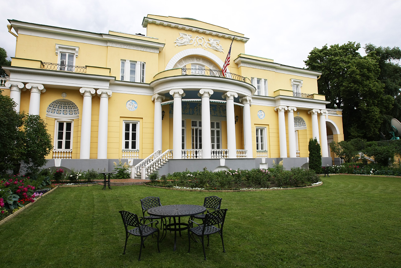 Spaso House became the residence of the U.S. Ambassador in 1933.