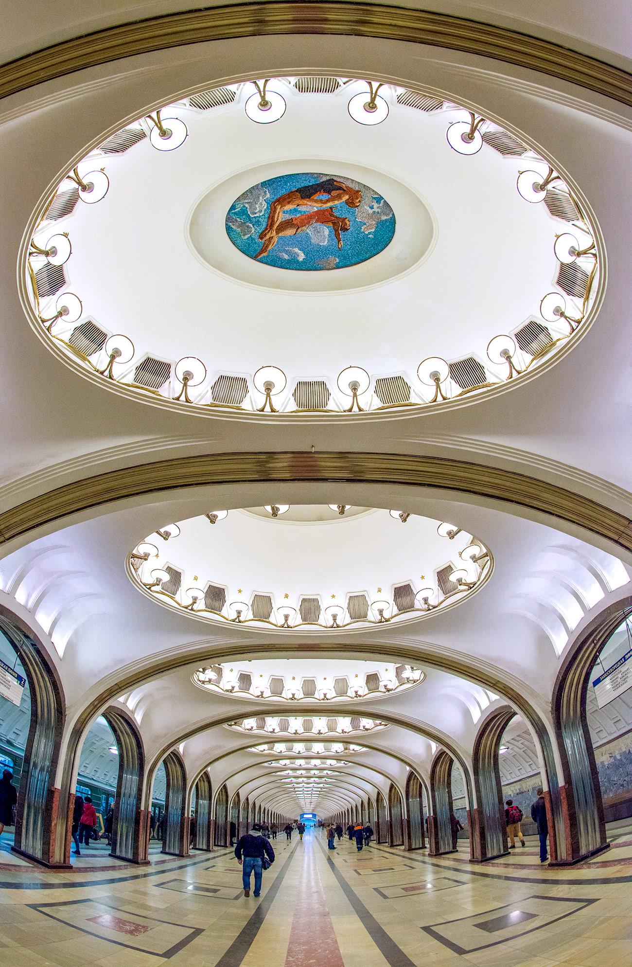 """Метростанция """"Маяковская"""". Снимка: Николай Галкин/ТАСС"""