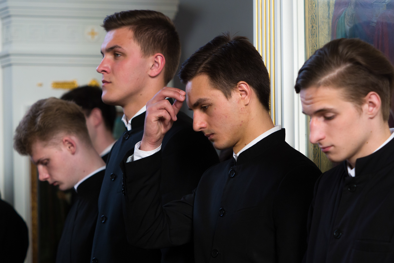 In future Vlad wants to develop international ties of the Russian Orthodox Church. Source: Ruslan Shamukov