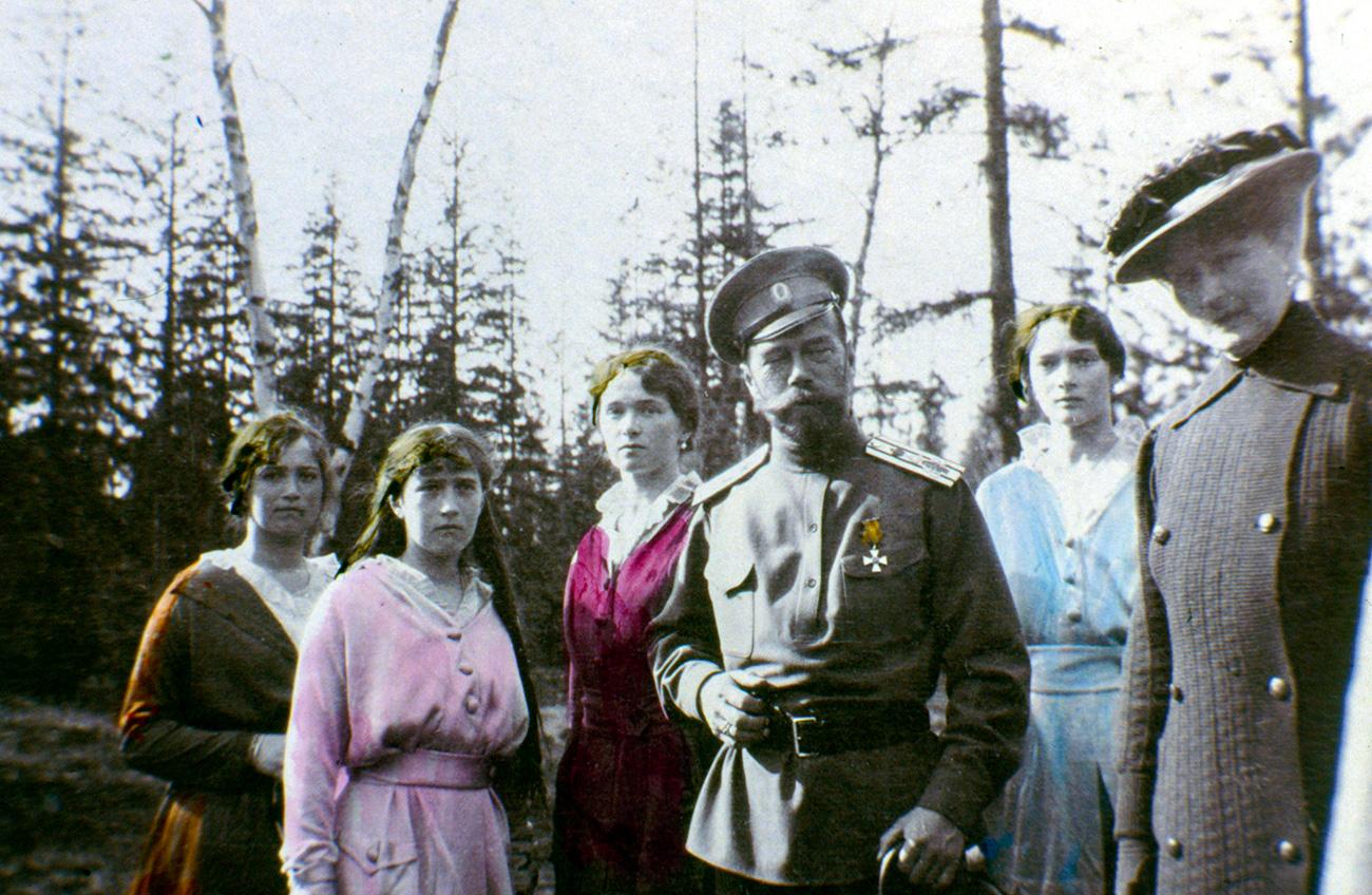 La macchina fotografica dello zar catturava perlopiù momenti di vita felice della famiglia imperiale