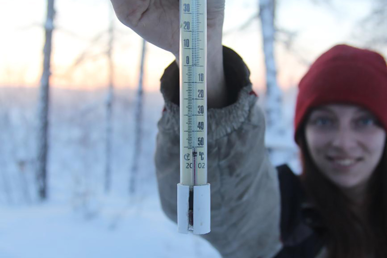Qui gli inverni sono lunghi e le temperature raggiungono livelli insopportabili