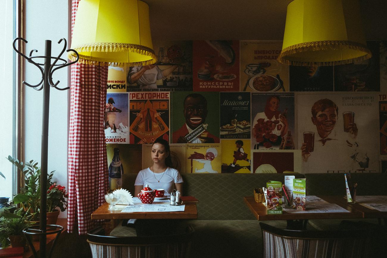 Ресторан у совјетском стилу, Вареничнаја Nо1. Извор: Марија Јонова-Грибина