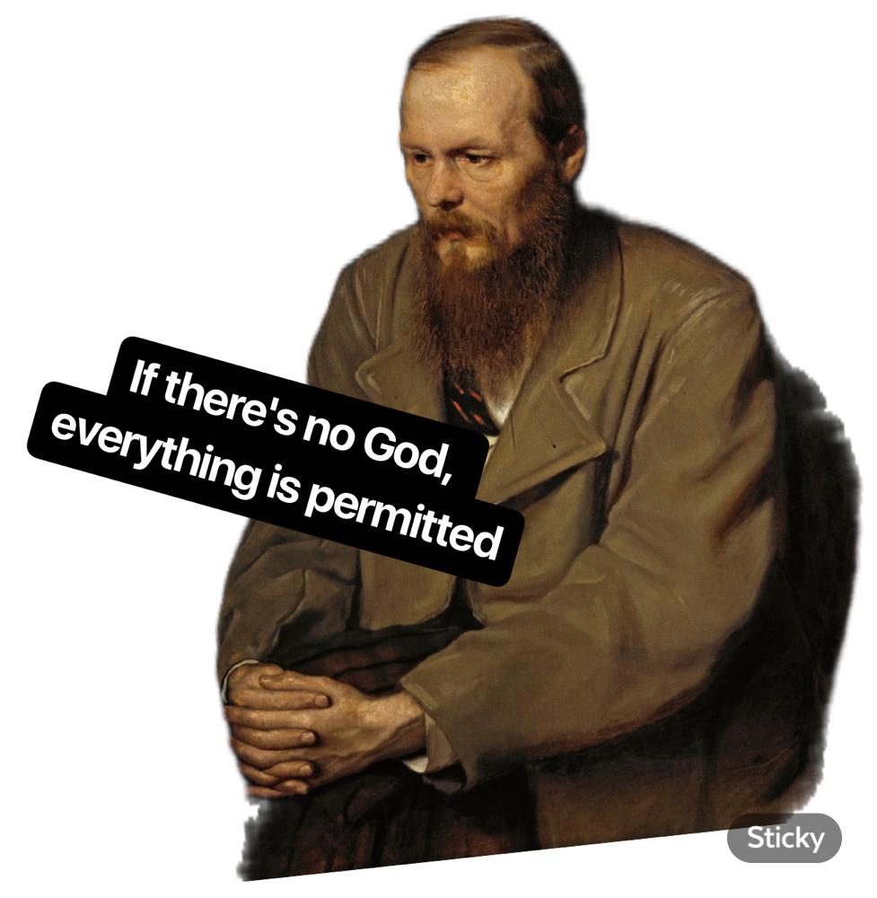 Well, if Dostoyevsky says.. / RBTH