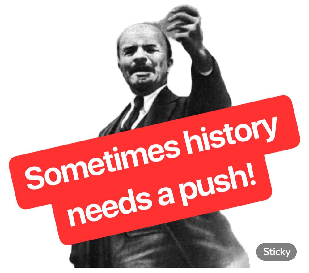 Always young dedushka Lenin / RBTH