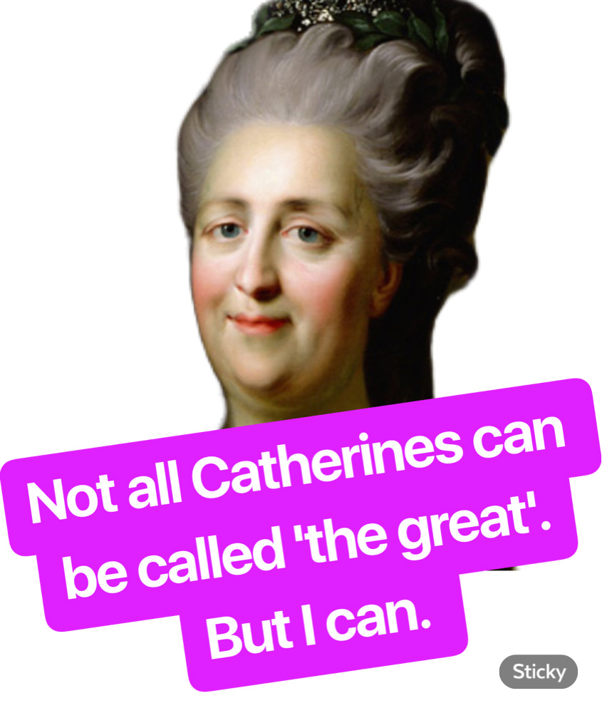 Catherine is great! / RBTH