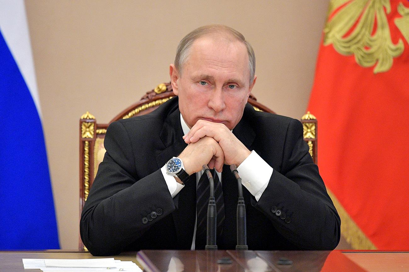 Претседателот на РФ Владимир Путин.