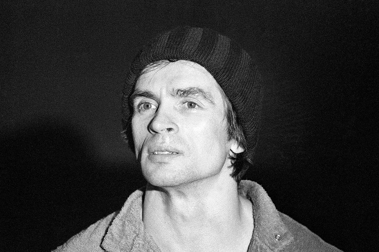 Rudolf Nureyev in New York, 1978.