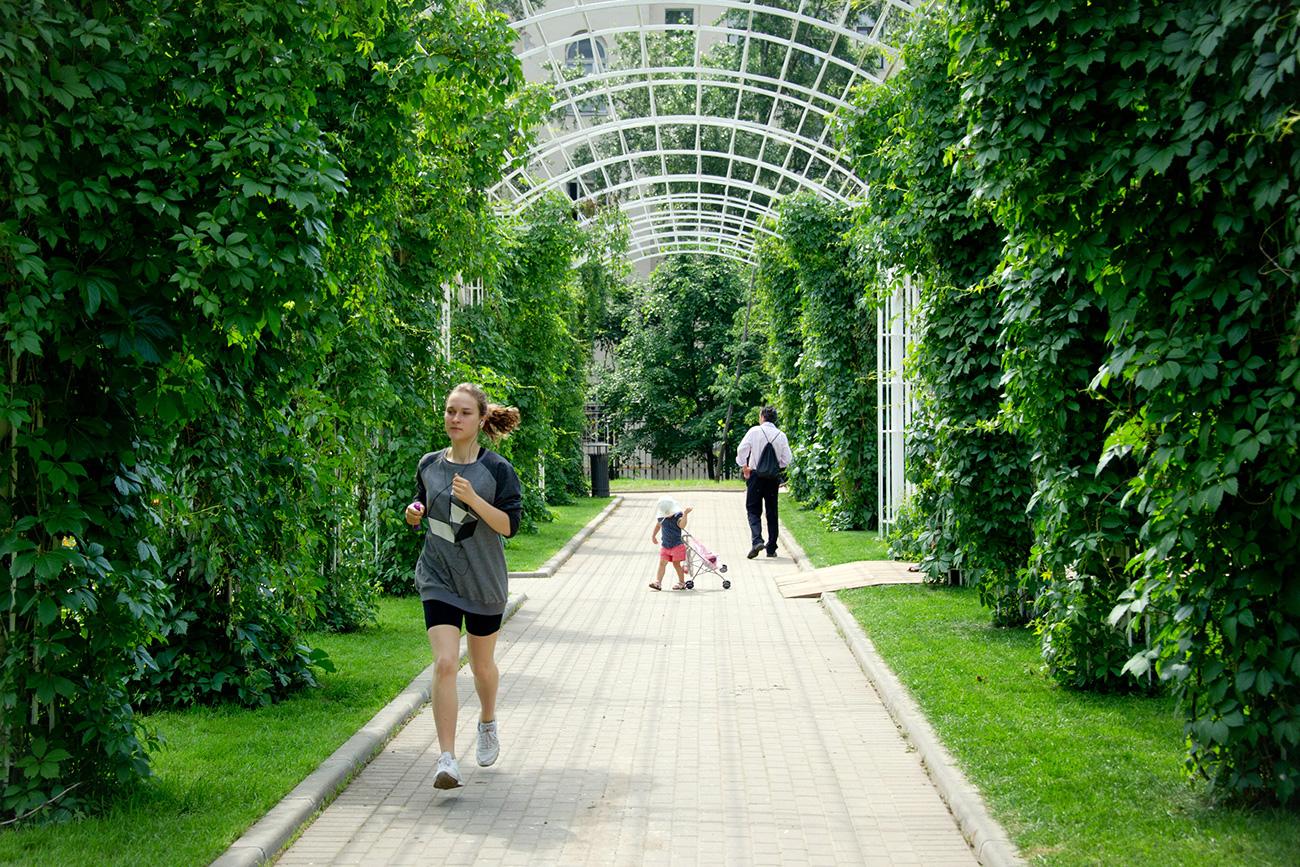 Jardín Bauman, Moscú. Fuente: Evguéni Samarin/RIA Nóvosti