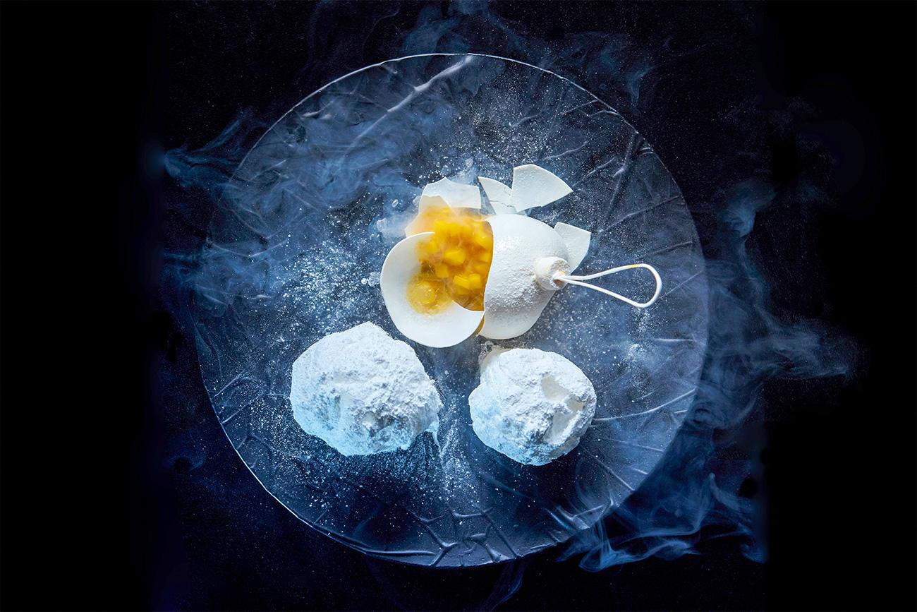 Pratos ultrarrealistas são marca registrada de um dos maiores chefs do país.