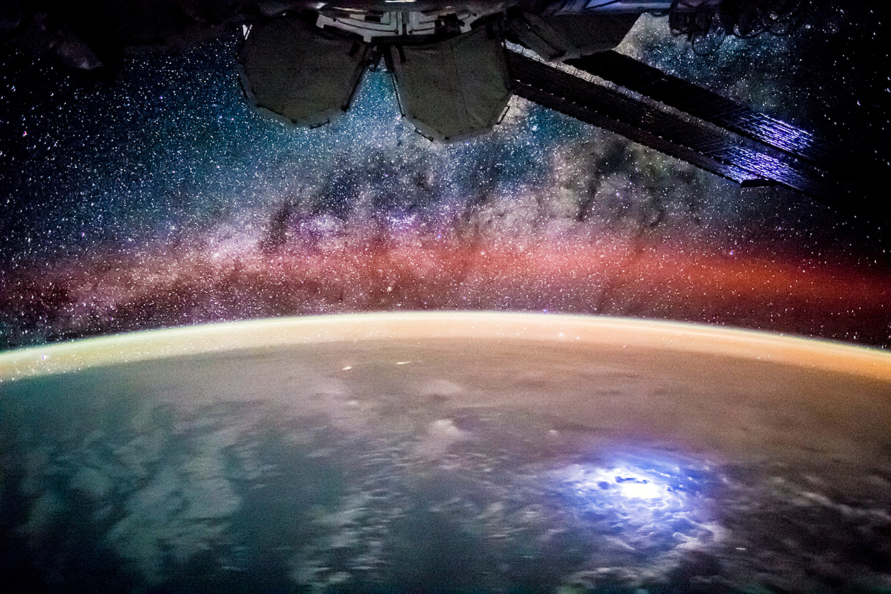 Stargazing From International Space Station