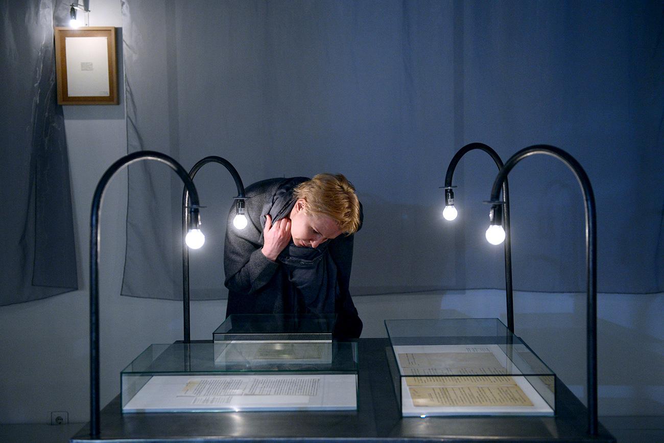 """La mostra """"200 battiti al minuto"""" al Museo di Arte moderna di Mosca. Fonte: Kirill Kallinikov/RIA Novosti"""