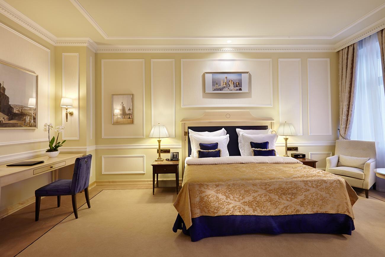 ベッドルーム=Hotel Baltschug Kempinski