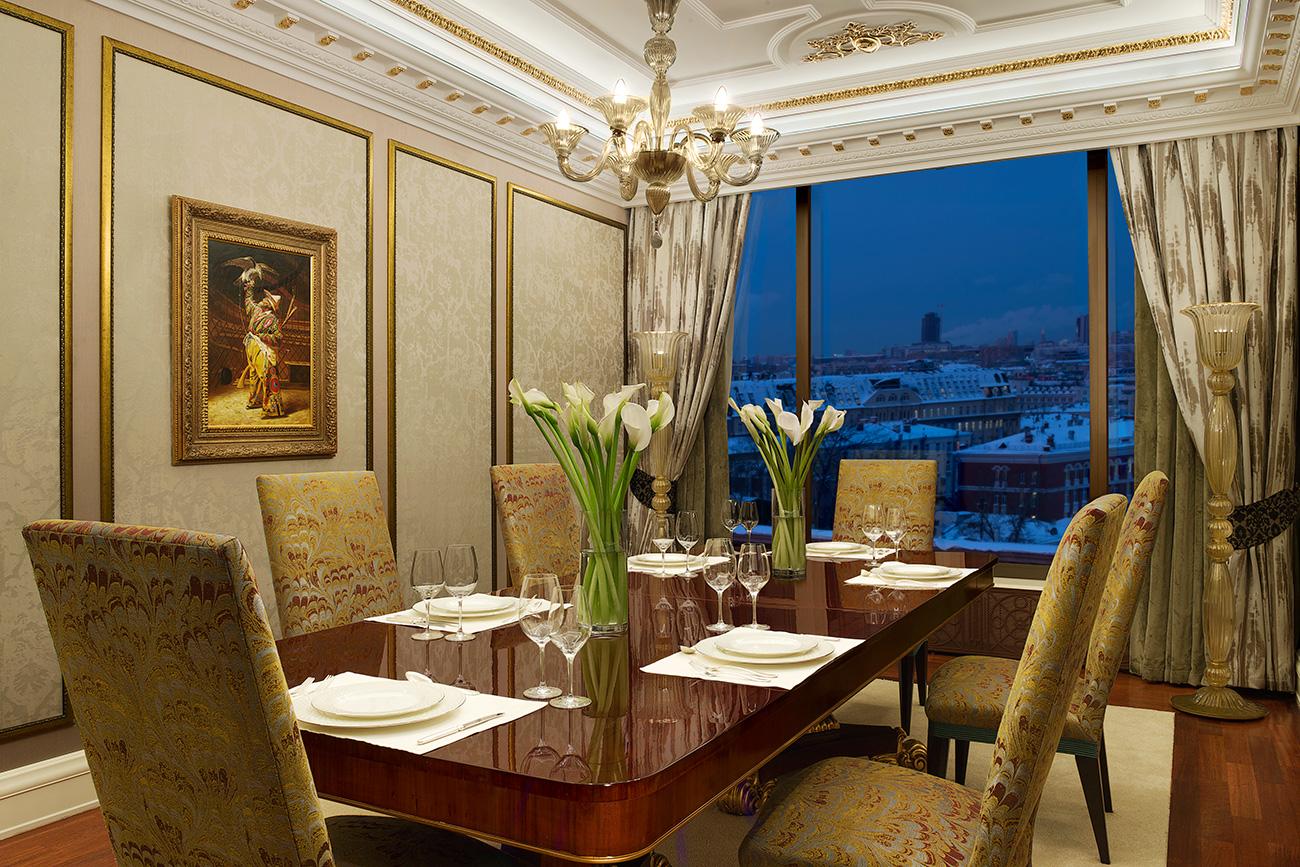 ダイニングルーム=The Ritz-Carlton Moscow