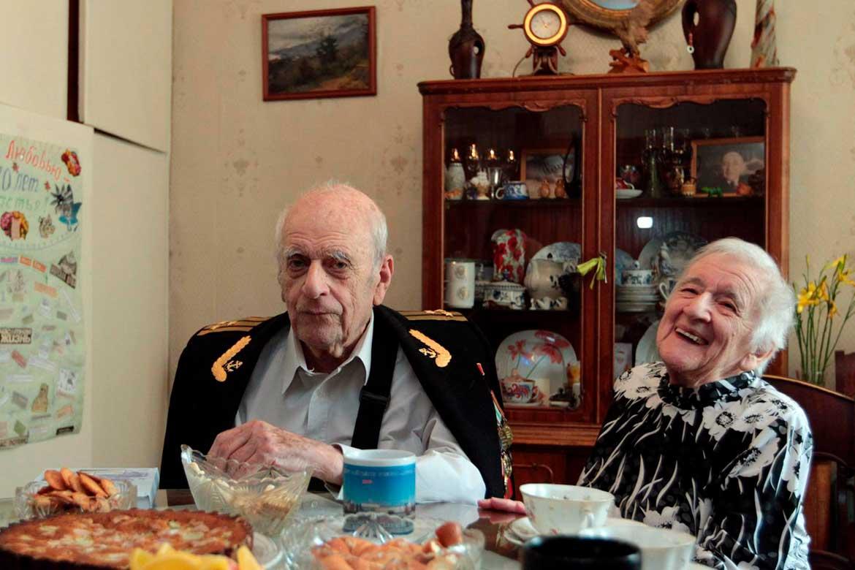 Anatolij Lifshitz e Lyubov Vovsij