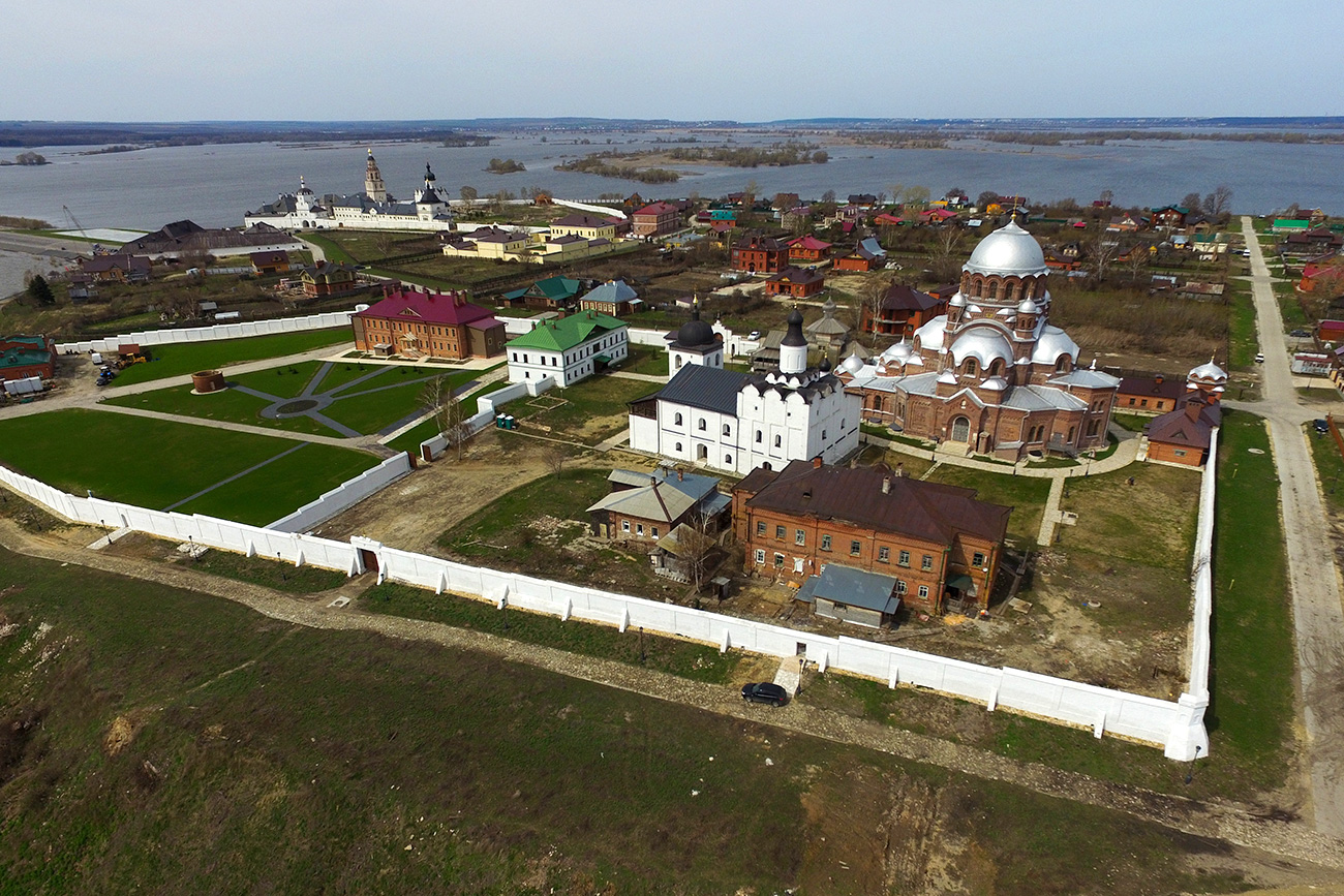Island village Sviyazhsk in Zelenodolsk district of Tatarstan.