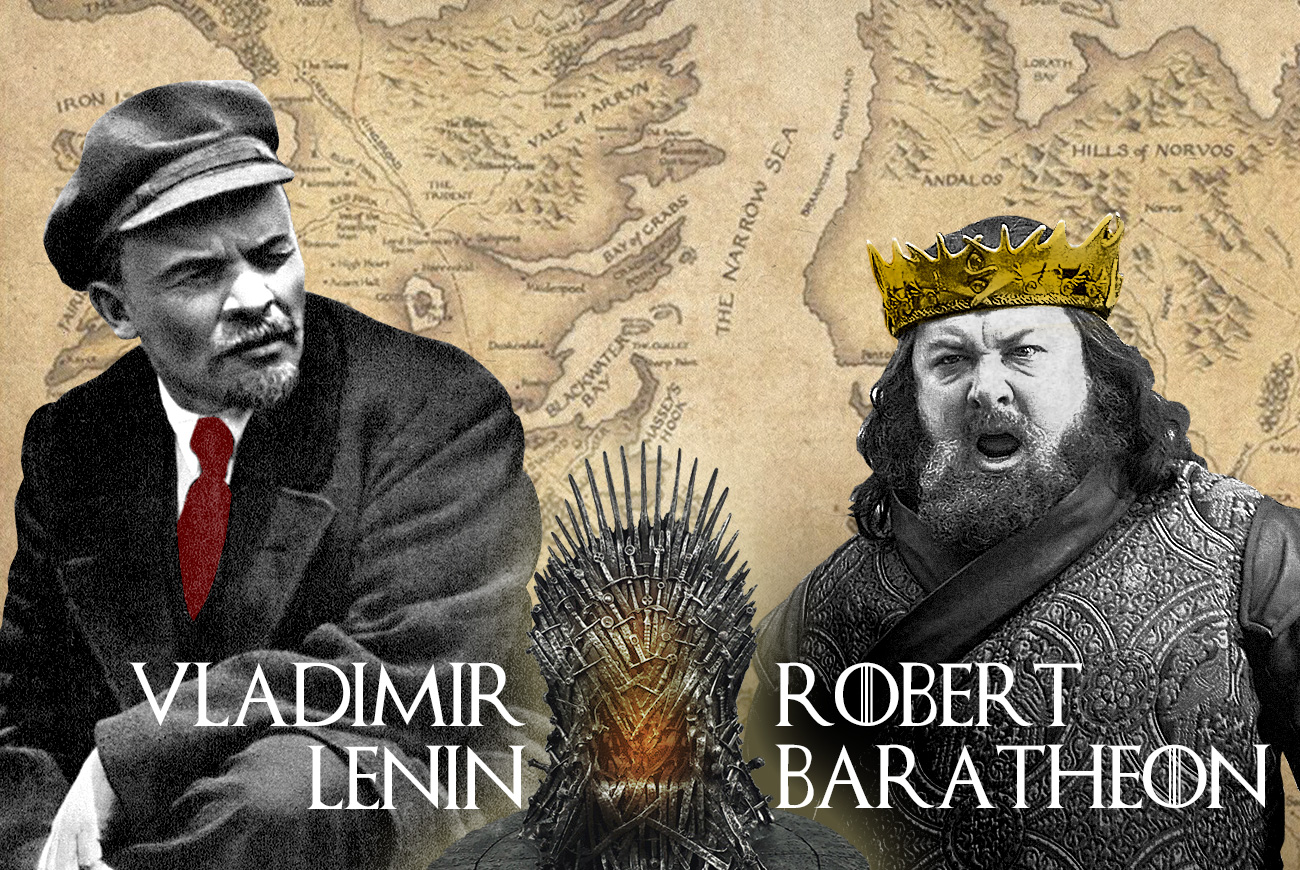 Vladimir Lenin vs Robert Baratheon
