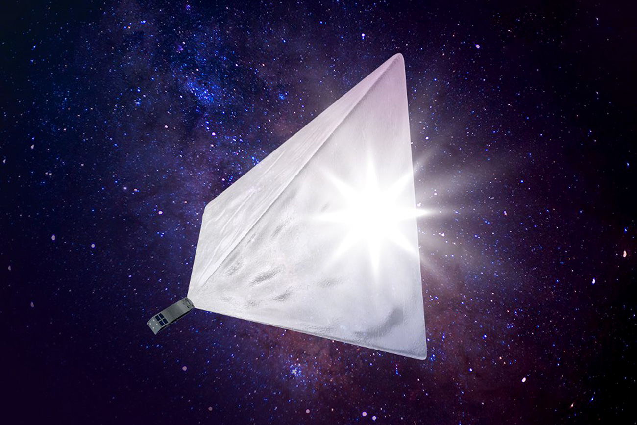 Developers raised more than $33, 000 to create the Mayak satellite.