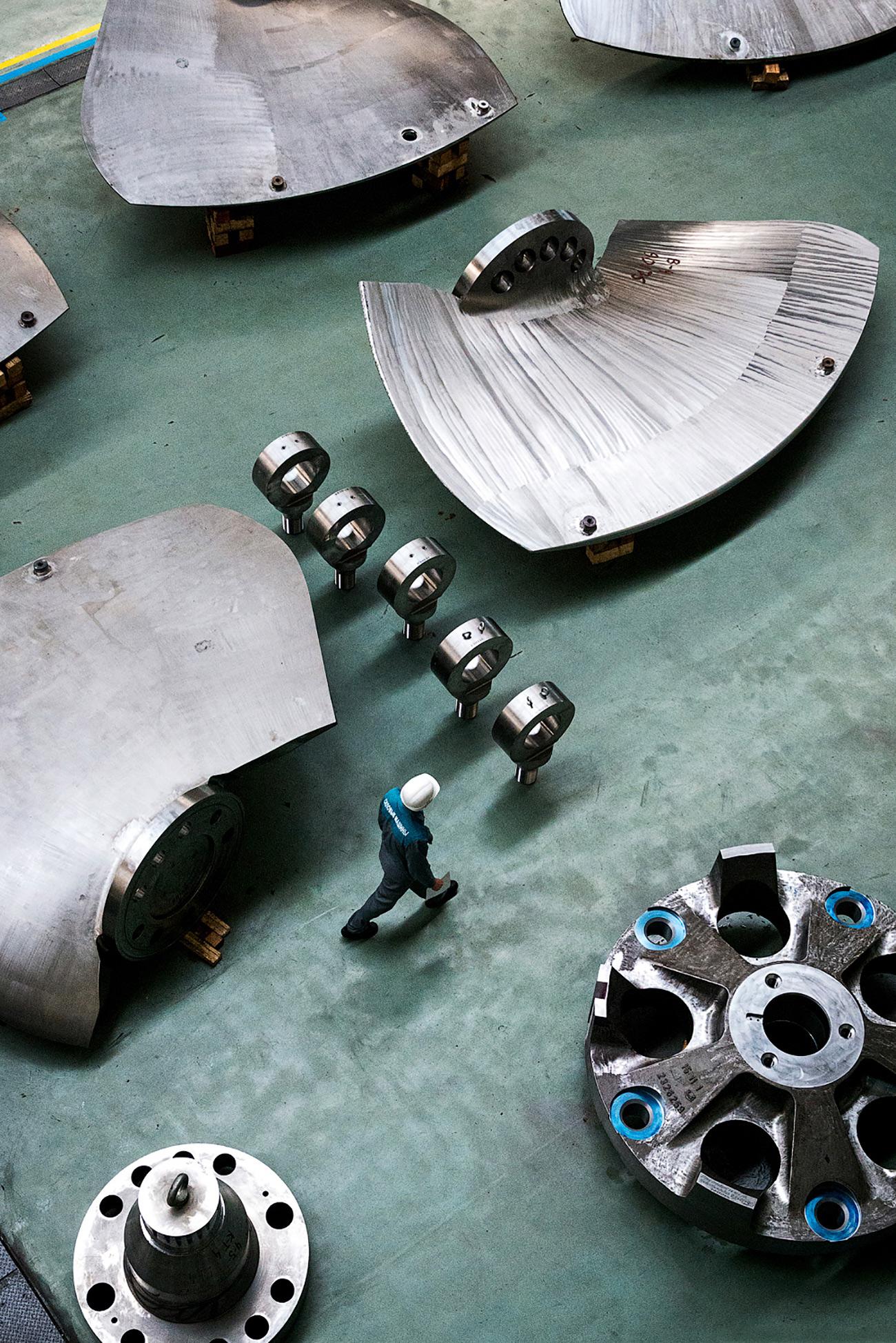 Actuellement, une turbine sur dix dans le monde est fabriquée par LMZ.