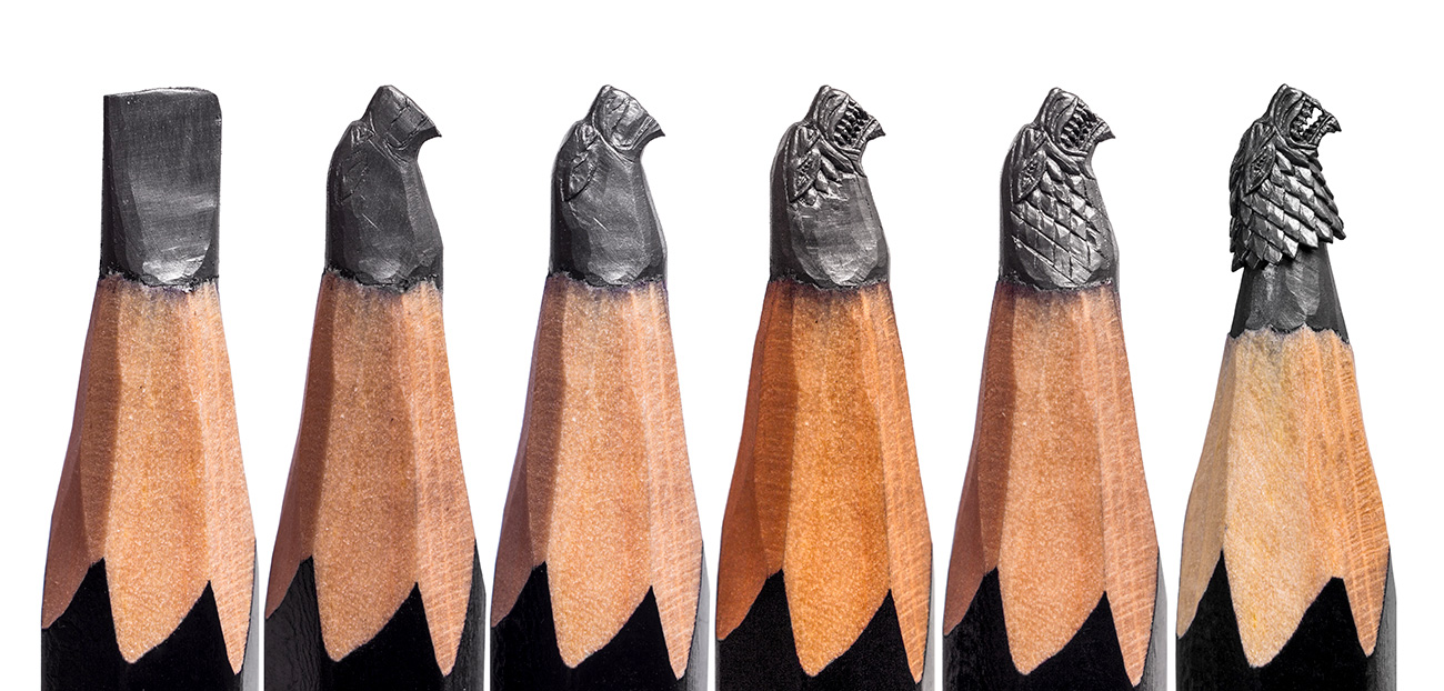 Salavat Fidai, an artist from Ufa, impressed the world a few years ago with tiny figures he made from pencil lead.