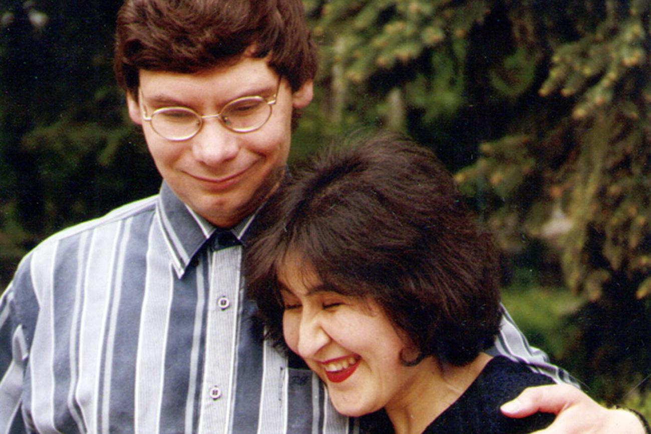 Zarifa e Mikhail. Fonte: archivio personale