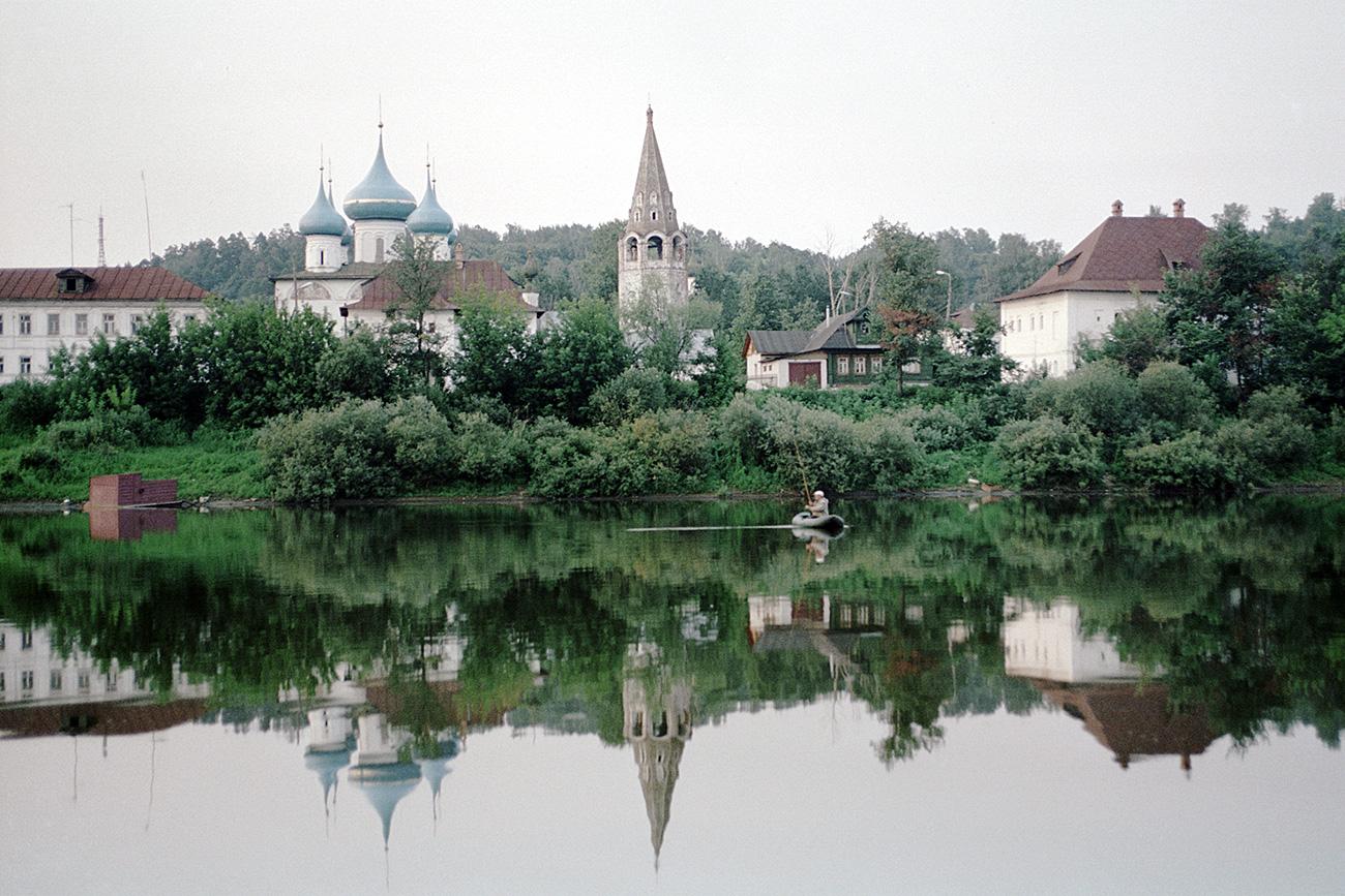 Градић Гороховец на обали реке Кљазме. Извор: Јуриј Карвер/РИА Новости