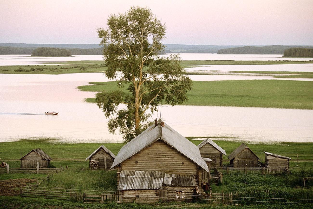 Национали парк Кенозеро, село Вершинино. Извор: Владимир Вјаткин/РИА Новости