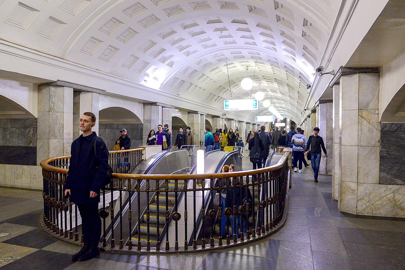 Московски метро.