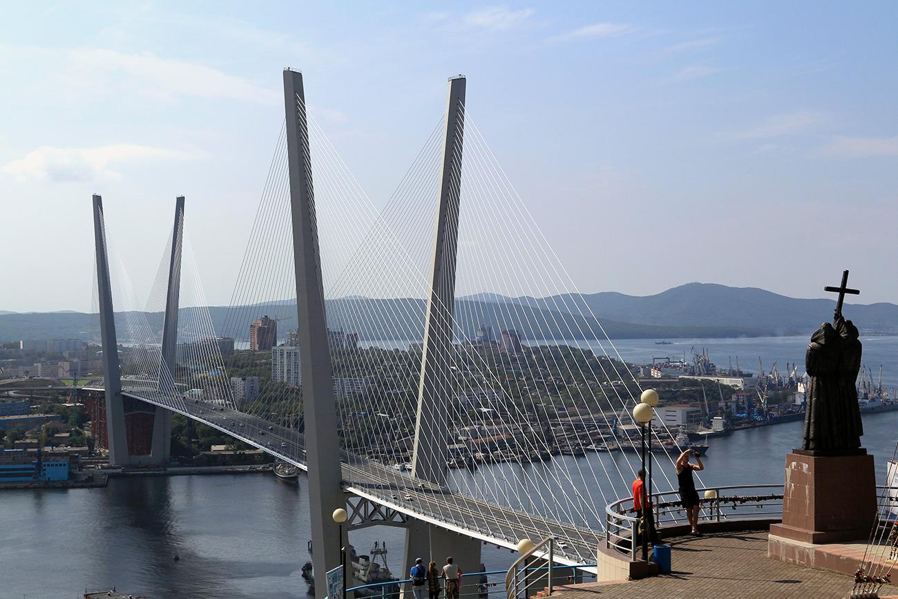 El Puente Russki, Vladivostok / Vitaliy Ankov/RIA Novosti