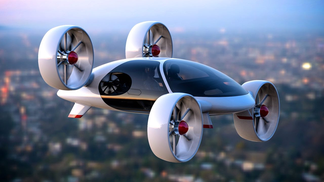 Bartini's flying car can take off and land vertically.
