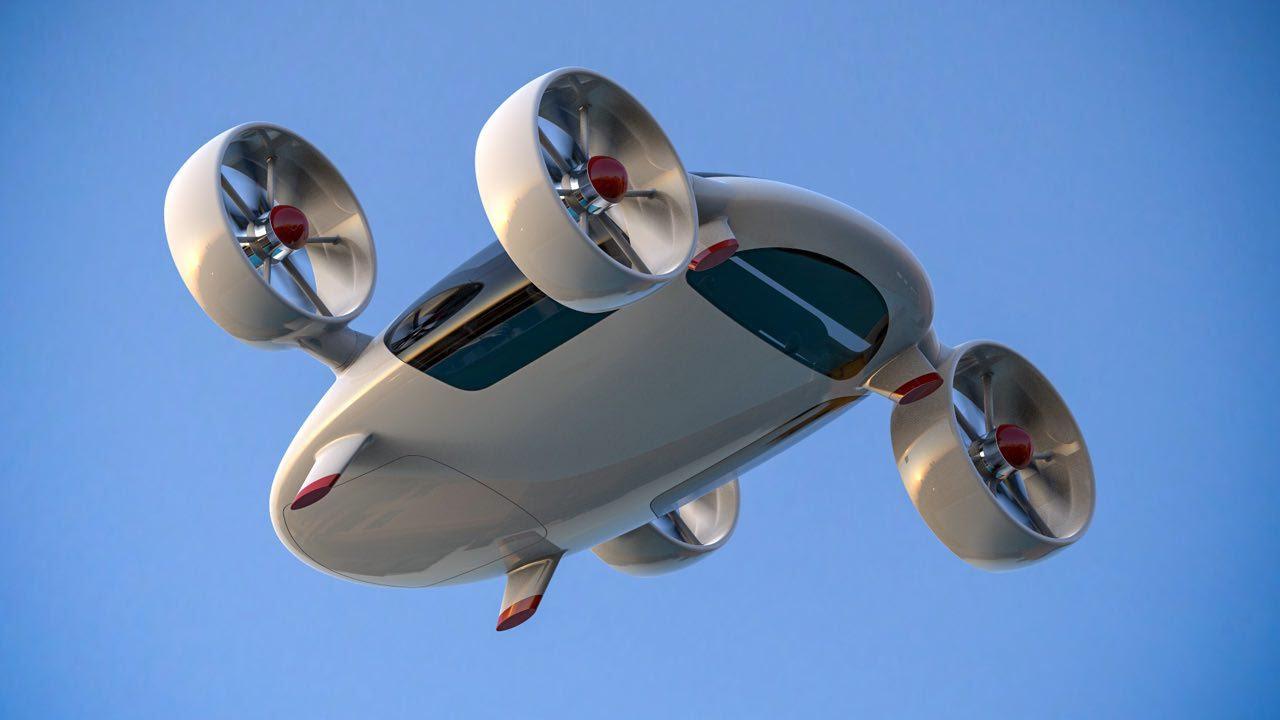 Mobil terbang Bartini. Sumber: Press photo