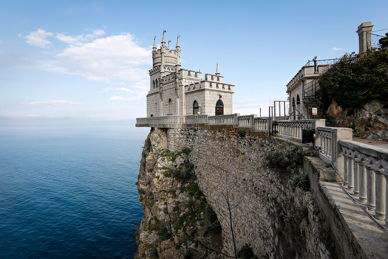 Château du Nid d'hirondelle en Crimée.
