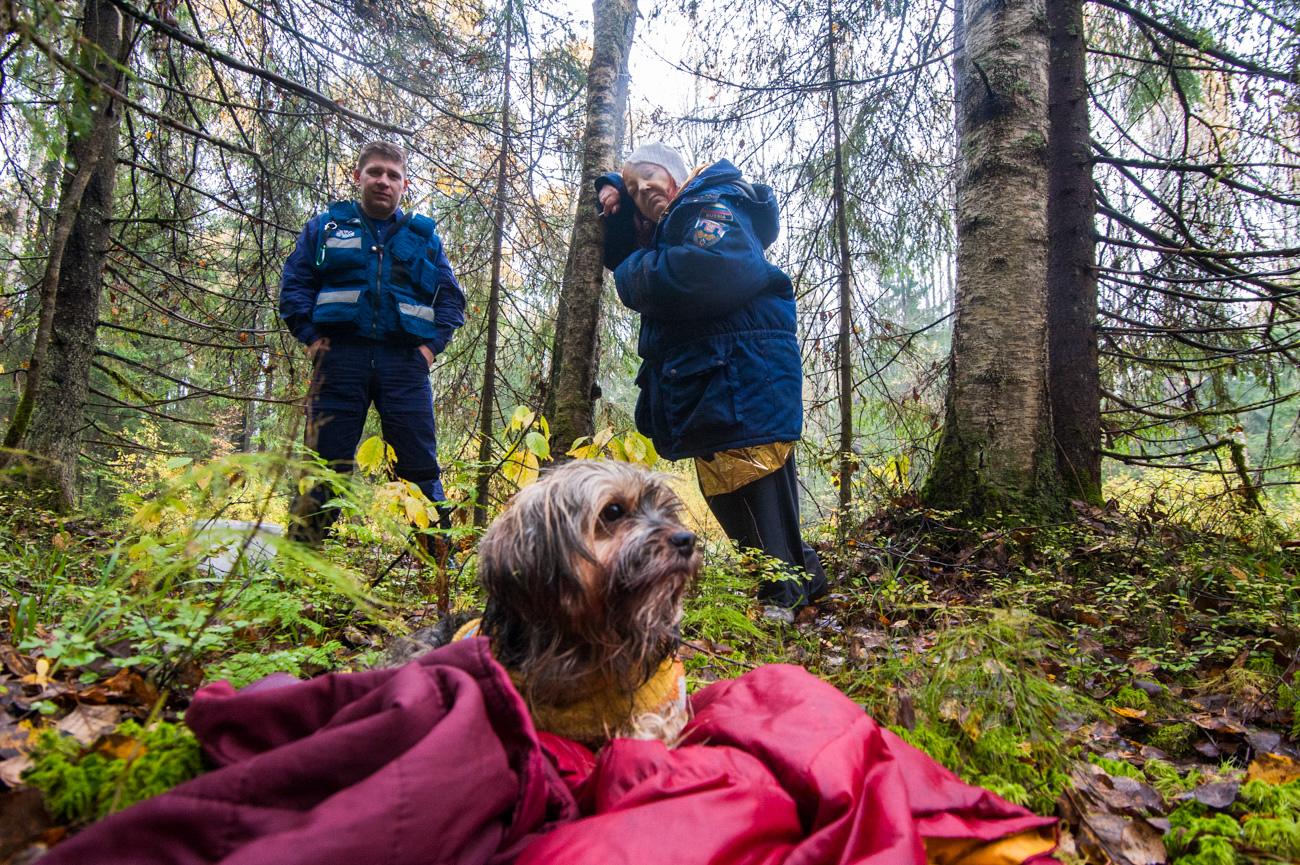 発見されたタチアナ・ペチョンコワさん(71)=写真提供:「リザ・アラート」