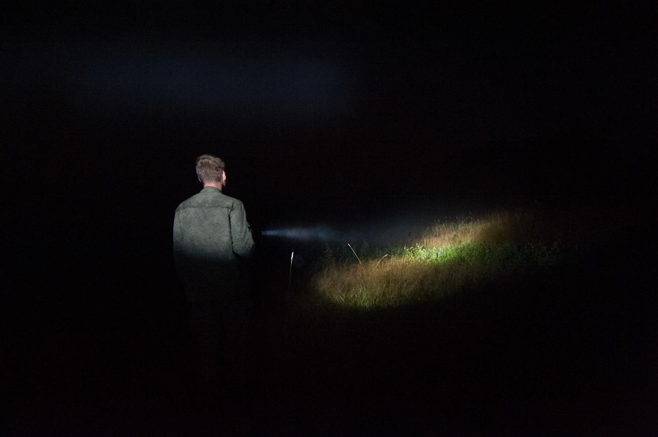 夜にも捜索が行っている=写真提供:「リザ・アラート」