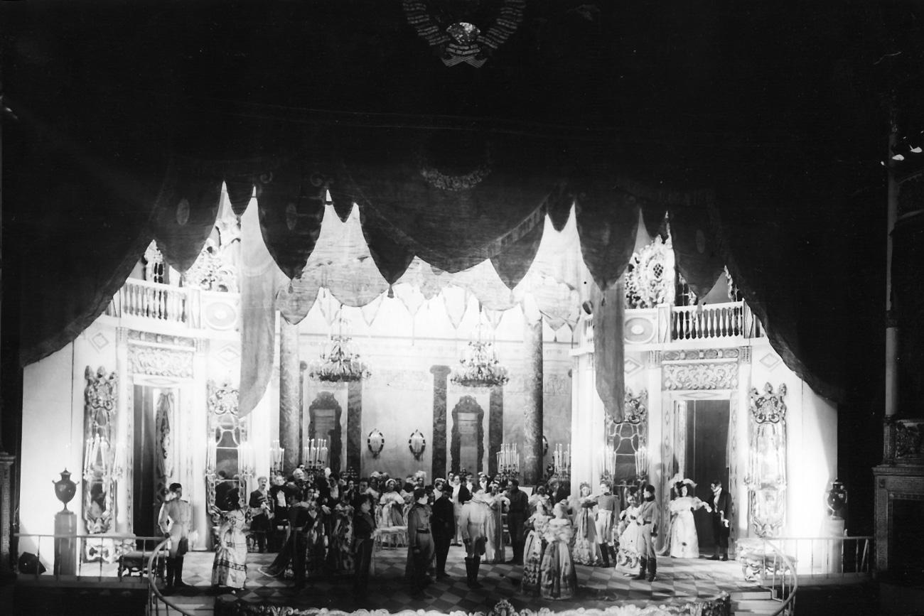 A ball scene / Alexandrinsky Theatre