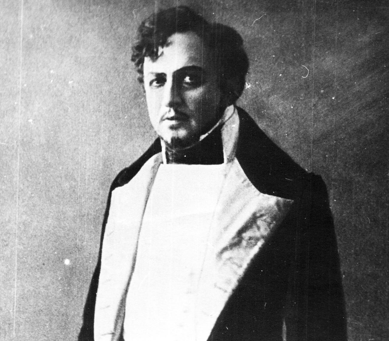 Actor Yuriev as Arbenin / Alexandrinsky Theatre