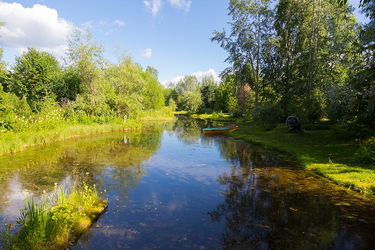 El jardín botánico en Solikamsk. Fuente: Oleg Vorobiov